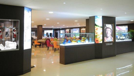 Hotel Roi Soleil Prestige : salle petit dejeuner