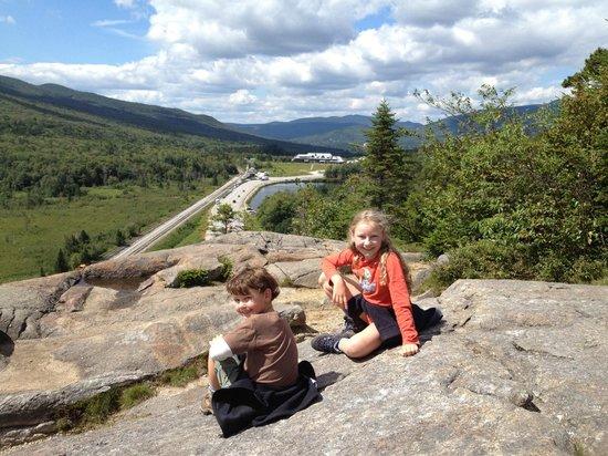 Appalachian Mountain Club High Huts: Highland Center 30 min hike.