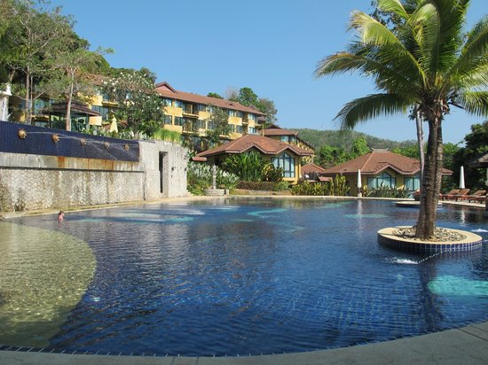 Supalai Resort & Spa Phuket: from the pool side