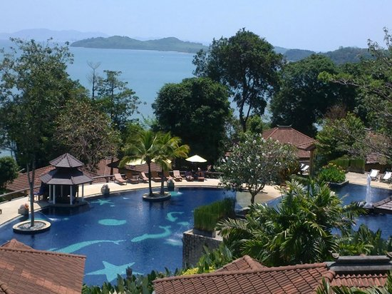 Supalai Resort & Spa Phuket: pool from the room