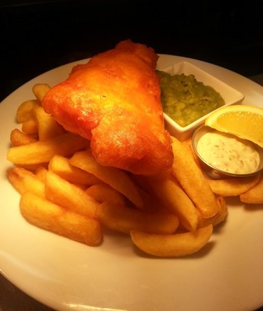The Hatton Arms: Fish and Chips