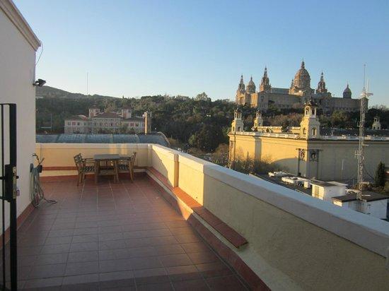 ClassBedroom: Vue de la terrasse