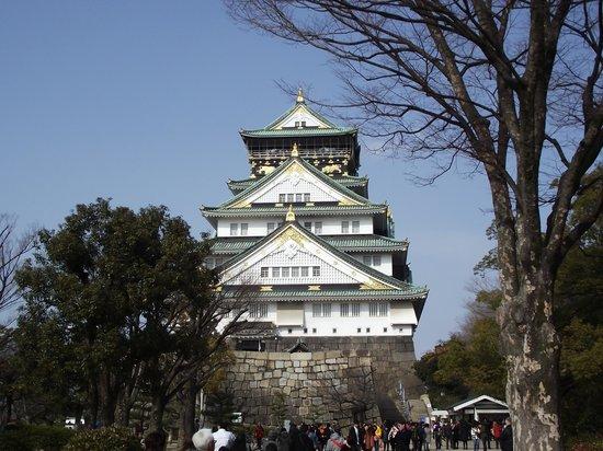 Osaka Castle : 正  面