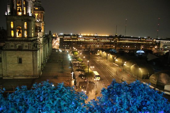 Zocalo Central : Zocalo from the terrace