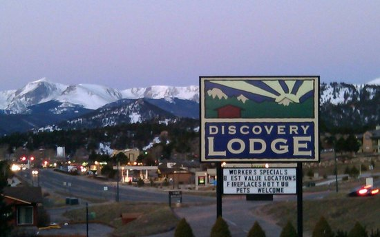 Discovery Lodge: View from room #312 amazing