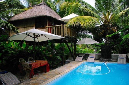 Villa Seewoo: Baumhaus mit Pool
