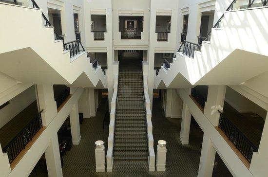 Hyatt Hotel Canberra: The Grand Staircases