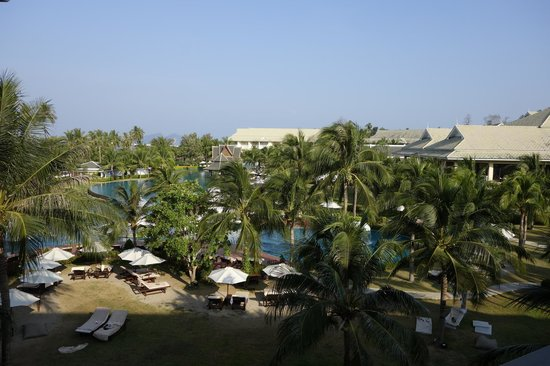 Sofitel Krabi Phokeethra Golf & Spa Resort: view from our 3rd floor room