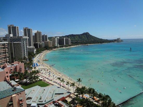 Sheraton Waikiki: ベランダからの眺め