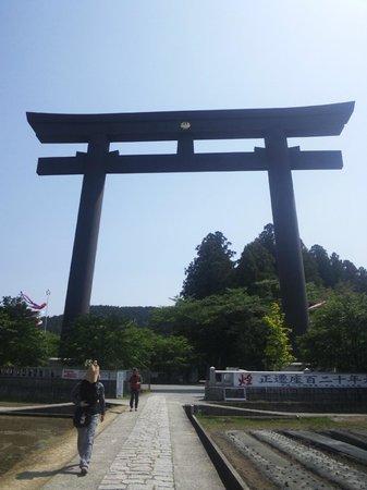 Tanabe, ญี่ปุ่น: 大鳥居