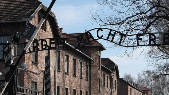 Staatliches Museum Auschwitz-Birkenau: Entrance to Auschwitz- Work Makes you Free