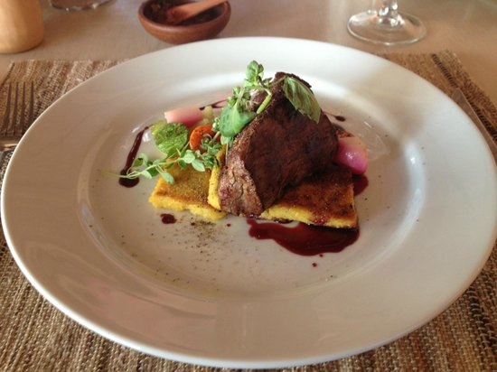 Awasi Atacama - Relais & Chateaux: Very good dinners with local ingredients