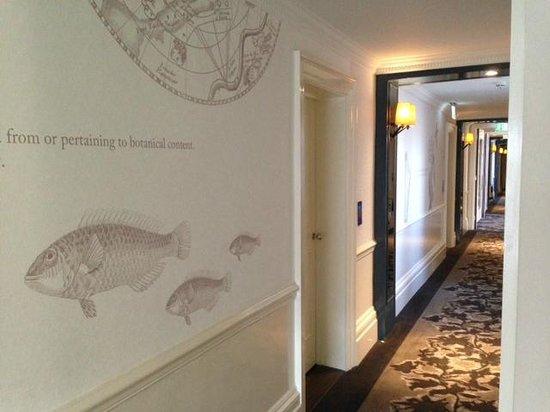 The Ampersand Hotel: Schön gestaltete Etagen
