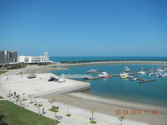 Millennium Resort Mussanah: View from our balcony