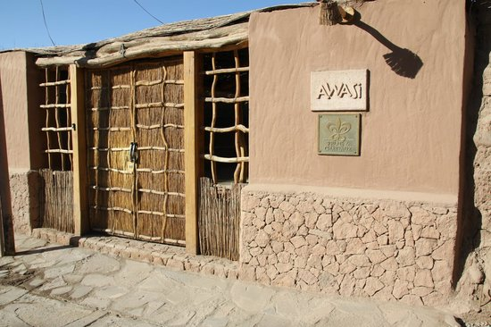 Awasi Atacama - Relais & Chateaux: Entrance to reception area and retangular suites