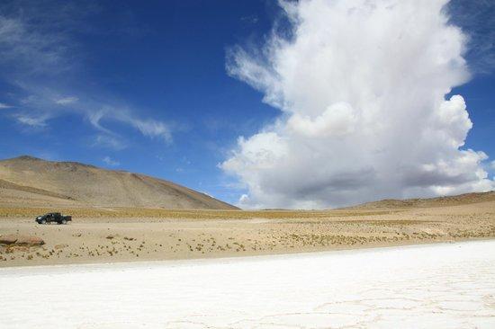Awasi Atacama - Relais & Chateaux: Amazing clouds