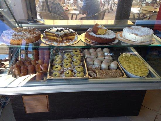 Casal Borsetti, Italie : Vetrina dei dolci