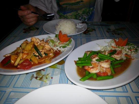 Red Chair Restaurant: skøn thai mad