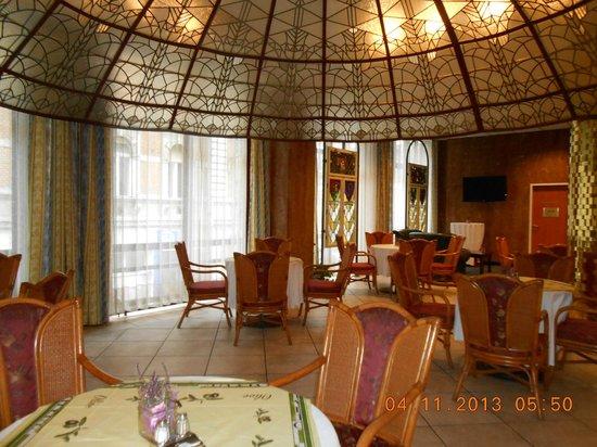 Radisson Blu Beke Hotel, Budapest: Este espaço é muito chic e aconchegante!!
