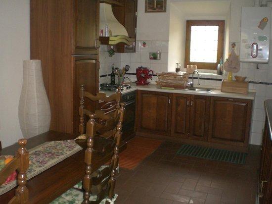Il Burattino Country House: cucina