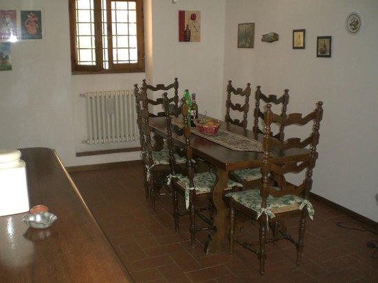Il Burattino Country House: cucina e tavolo