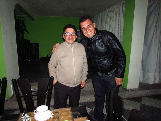 A Bogota On Holidays: Sr. Palomino, um doce de pessoa.