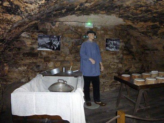 Société des Caves Roquefort - Visite des Caves: Comme autrefois!!