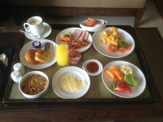 Sunsuri Phuket: In Room breakfast