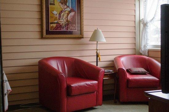 Chestnut Street Inn : Green Room Sitting Porch