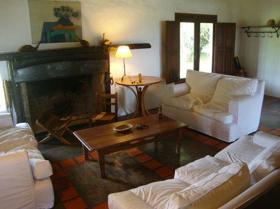 Posada de la Laguna: General sitting area. Internet works there fairly well!