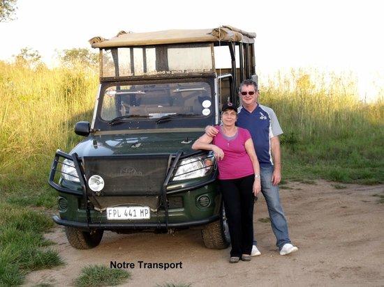 Nkambeni Safari Camp : Un des véhicules utilité pour la visite du parc