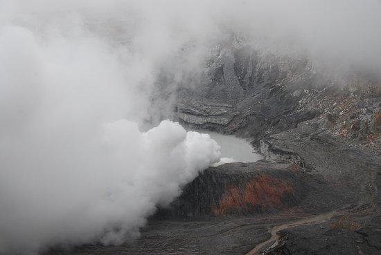 Poas Volcano : crater of Poas