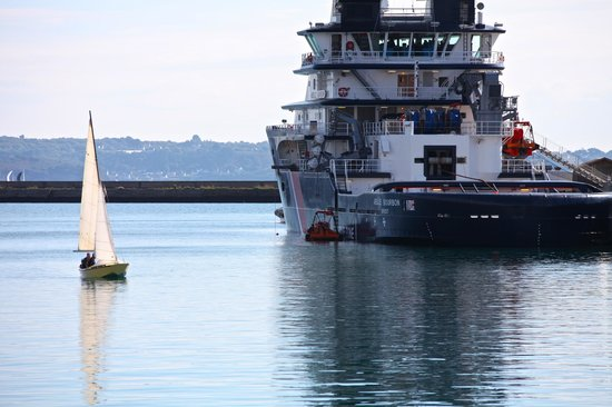 Hotel ibis Budget Brest Centre Port: Sur le port de Brest