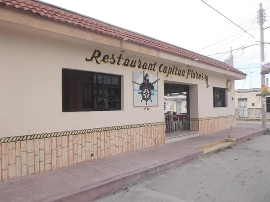 Restaurant Capitan Flores: Photo du 12 février 2014.