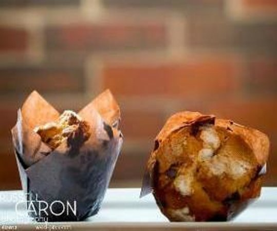 Perk Coffee Bar + Cafe: Muffins-Made from Scratch!