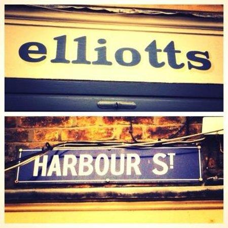 Elliott's at No 1 Harbour Street: No. 1 in Harbour Street!