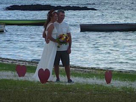 Emeraude Beach Attitude : Our wedding
