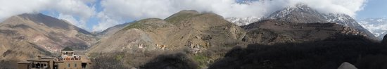 Kasbah Du Toubkal: View from the tower