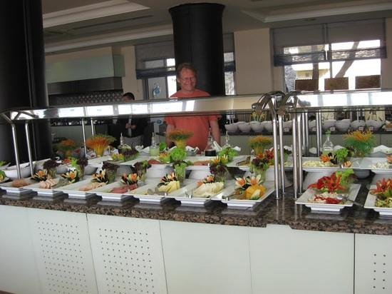 Melas Resort Hotel: Excellent salad bar