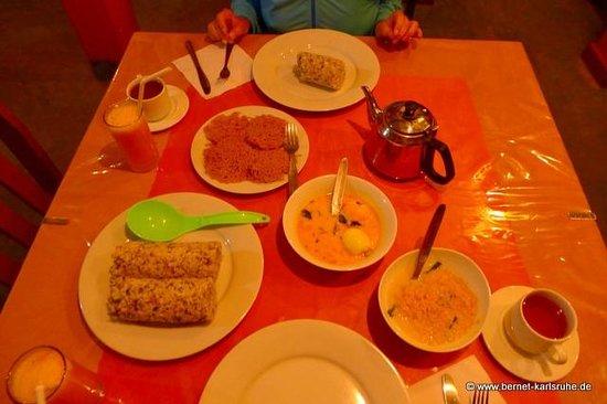 Das Beste Vom Tag Ein Frühstück Von Malika Und Pradeep Bild Von