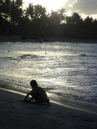 Grand Bahia Principe El Portillo: playing on the beach..