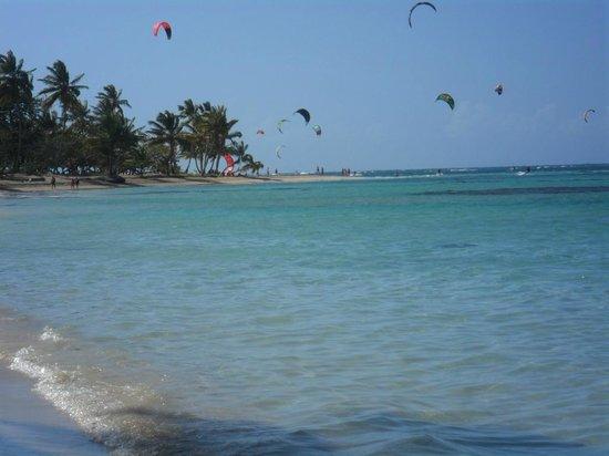 Grand Bahia Principe El Portillo: kite surfers