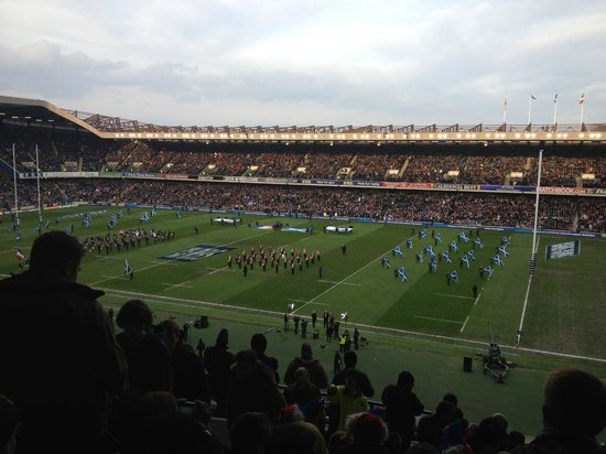 BT Murrayfield Stadium: Avant-Match