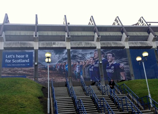 BT Murrayfield Stadium: Let's Hear it For Scotland