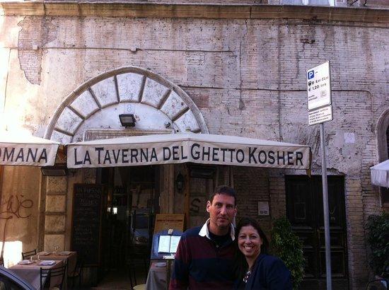 La Taverna del Ghetto : Entrada