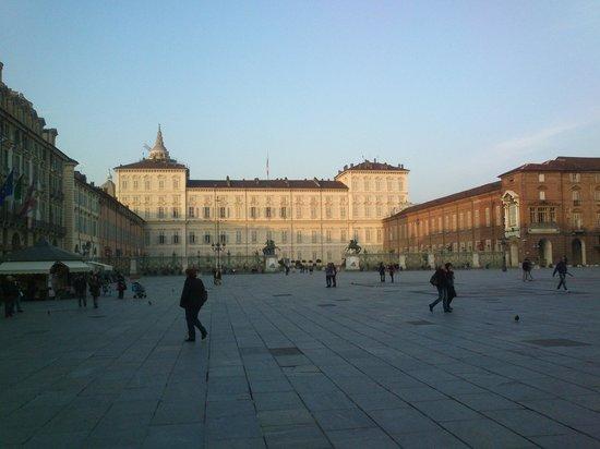Palazzo Reale e piazza