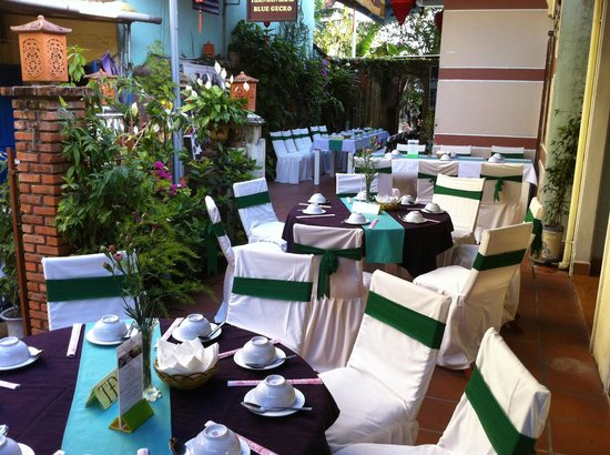 Hoi An Restaurant - Blue Gecko : BLUE GECKO RESTAURANT - HOI AN - VIET NAM