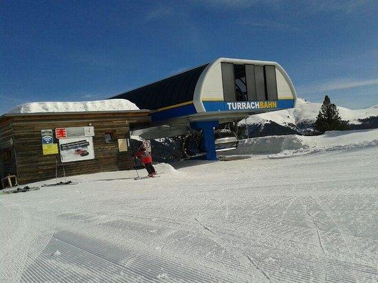 Hotel Turracherhof : Bergstation Turrachbahn