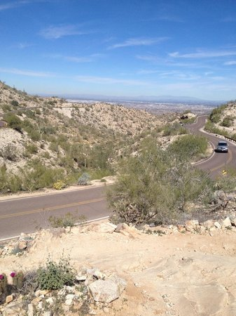 South Mountain Park: View from the top of Kiwanis Trail