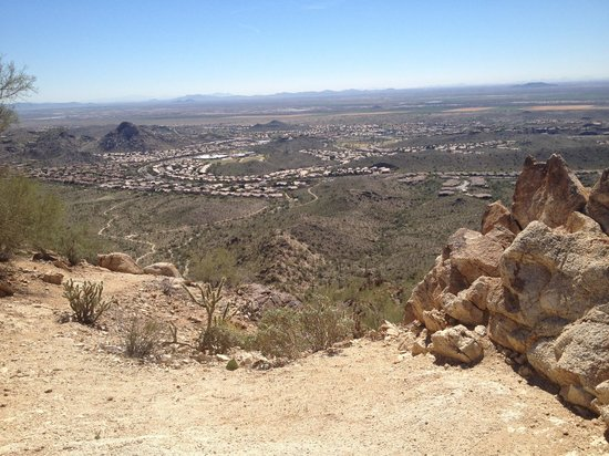South Mountain Park : View from National Trail